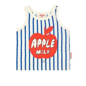 Apple milk vertical Stripe tank top (BP0232334)