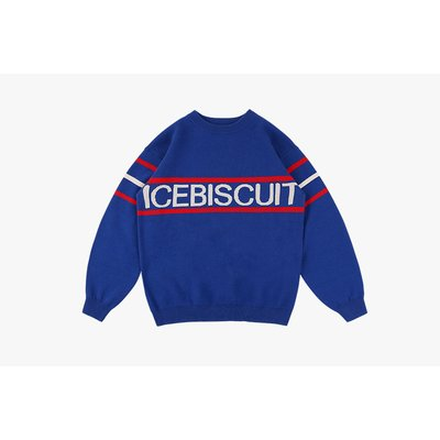 [20% SALE] Icebiscuit stripe point pullover sweater