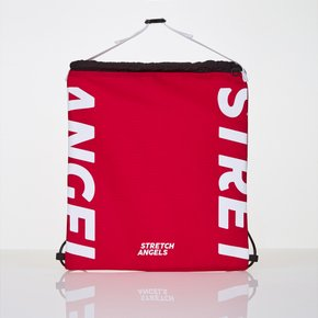 *season off*[L.P.Y] logo string easy backpack (Red)