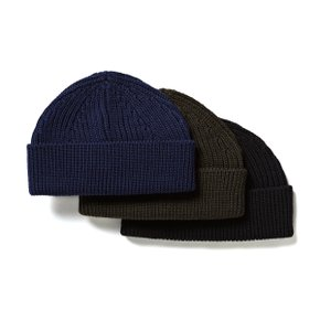 BEANIE SHORT HUNTING GREEN