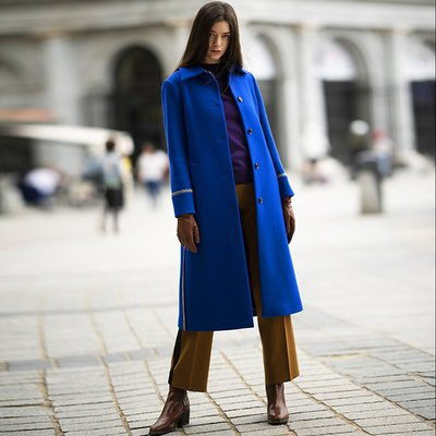 [30%할인적용가]STELLA MAC COAT [BLUE]