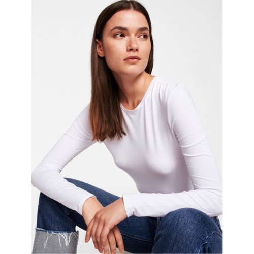 W+W Cotton Modal Crewneck