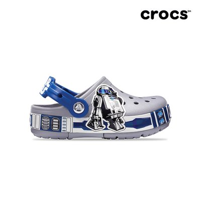 (크록스키즈) 아동 CROCBAND R2D2 LIGHTS CLOG K LGY (19SKBL205008)