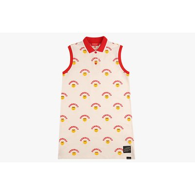 [30% sale] Multi athletic smile pique polo dress