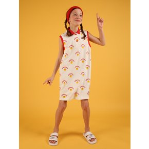 [SPECIAL SALE] Multi athletic smile pique polo dress