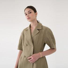 [15%할인가][블랭크공삼]linen summer jacket (khaki)