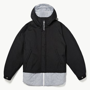 미스터젠틀맨  KARRIMOR QUILTING MIX MOUNTAIN JACKET BLACK
