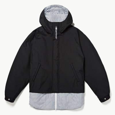 KARRIMOR QUILTING MIX MOUNTAIN JACKET BLACK