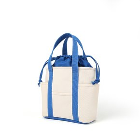 카페토트_Cafe Tote Small_(ecru/blue)