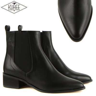 [KUHEE] [기획상품]4cm Manish Ankle Boots(007)