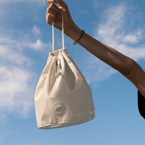 Brilly Bucket Bag_White