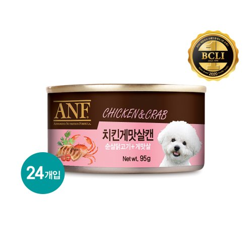 ANF_CAN_치킨게맛살캔_95G(DOG) 24개입