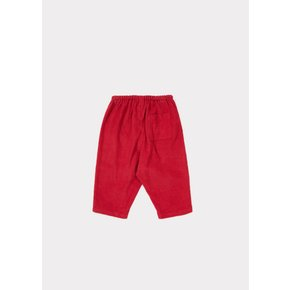 베이비 바지 CAT TROUSER RED (33L5220029302)