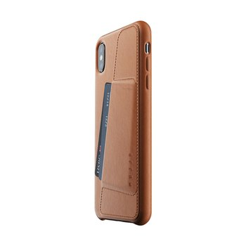Full Leather Wallet Case for iPhone Xs Max - Tan