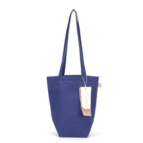 [더블유더블유]linen mini ecobag - blue