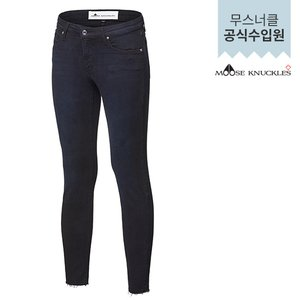 [여주점] [MOOSEKNUCKLES] 여성 청바지 BLACK FREYED ANKLE SKINNY (17FMK001LJMKJ01)