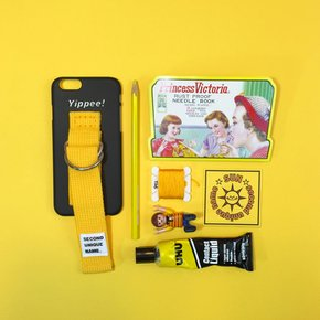 SUN CASE BLACK YELLOW (WORD)