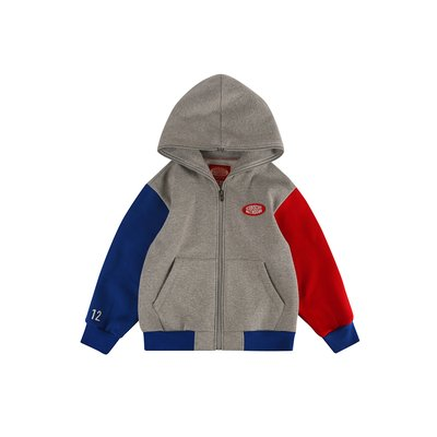 [20% SALE] Icebiscuit color block zip hoodie (기모O)