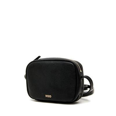 [헤지스ACC] HSD [19SS] BLACK LEATHER MINI CROSS HABA9E337BK