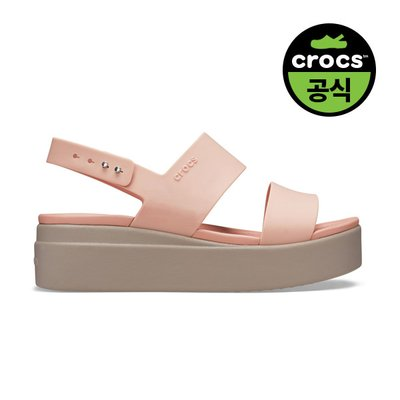 크록스공식 여성 CROCS BROOKLYN LOW WEDGE W PBM (20SWWD206453)