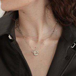 Honesty OT Necklace (Silver, Gold)