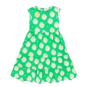 All over daisy summer long dress