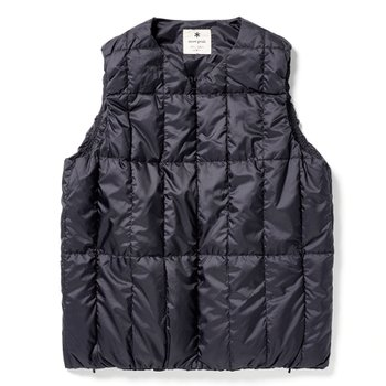Recycled Middle DownVest BLACK