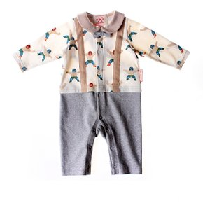 Multi wrestler boy overall