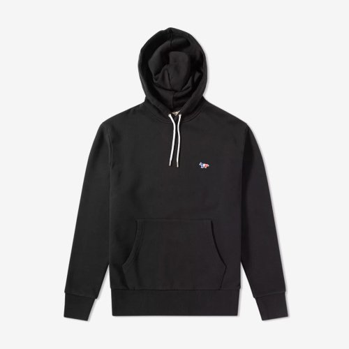 [PRE-ORDER] 20SS HOODIE TRICOLOR FOX PATCH BLACK MEN AU00307KM0001
