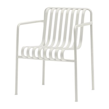 PALISSADE DINING ARMCHAIR CREAM WHITE