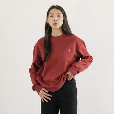 Signature Logo SweatShirts - Burgundy