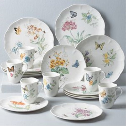 레녹스 Lenox Butterfly Meadow 18Pc Set