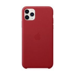iPhone 11 Pro Max 가죽 케이스 - (PRODUCT)RED(MX02F2FE/A)