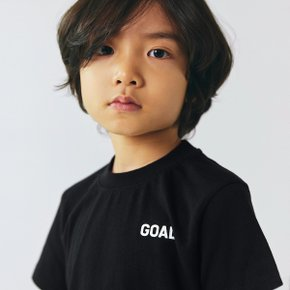 [골스튜디오] (KIDS)TEXT LOGO TEE - BLACK