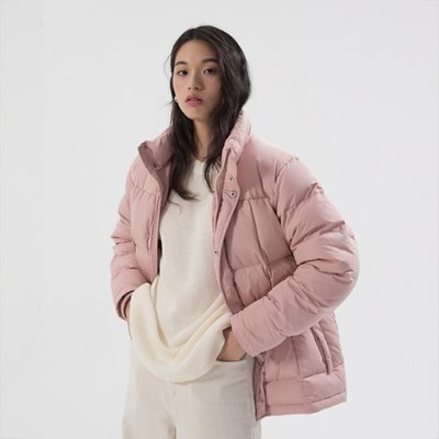 Half Duck Down Parka - Pink