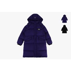 Icebiscuit puffy long down coat