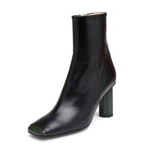 [파주점] Forest square toe ankle boots(black)