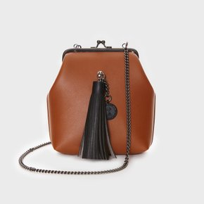 미아백 9° Mia Bag BROWN - TASSEL [SAMO ONDOH]