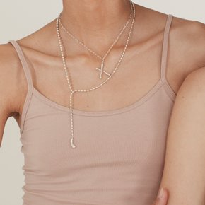 Drape Necklace (Silver, Gold)