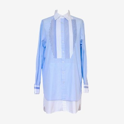 ANNA GALAGANENKO 안나 갈라가넨코 STRIPE SHIRT DRESS AG-AW19-40