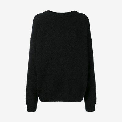 ACNE STUDIOS 아크네 DRAMATIC MOHAIR BLACK A60034-900