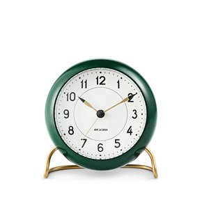[이노메싸]AJ Table Clock Station Green/White (43677)