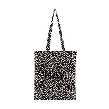 Cotton Bag Black Dot
