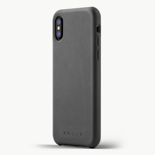 Leather Case for iPhoneX GREY