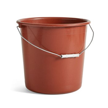 TURKISH PLASTIC BUCKET BROWN