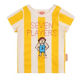 Seven players baby bold stripe short sleeve tee / BP8222158