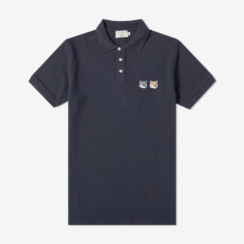 [PRE-ORDER] 20SS POLO DOUBLE FOX HEAD PATCH ANTHRACITE MEN BU00200KJ7002