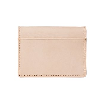 로우로우 FOLDING WALLET 303 LEATHER NATURAL