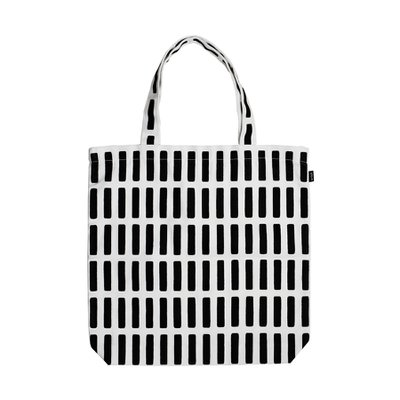 SIENA CANVAS BAG, White/Black