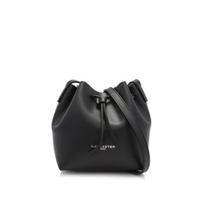 Lancaster Pur Smooth Mini Bucket Bag Lancaster Pur Smooth Mini Bucket Bag (42315NOIR)